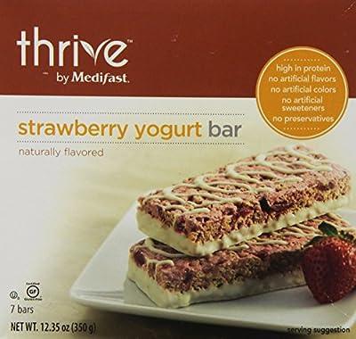 Medifast Thrive Bar-7 Bars (Strawberry Yogurt Bar)