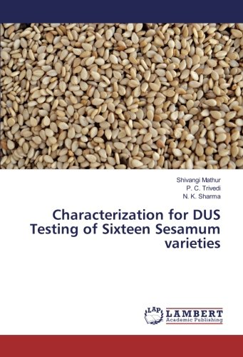 Characterization for DUS Testing of Sixteen Sesamum varieties