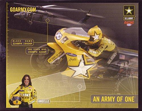 ANGELLE SAMPEY NHRA HERO CARD PRO STOCK MOTORCYCLE - Stock Pro Nhra 2005