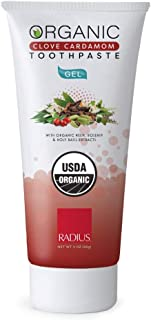 product image for RADIUS (NOT A CASE) Organic Toothpaste Gel Clove Cardamom