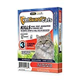 Product review for VetGuard Plus Flea & Tick Treatment for Cats, All Sizes, 3 Month Supply
