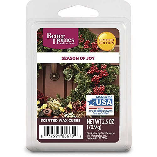 Better Homes and Gardens Season of Joy Wax (Spice Berry Garland)