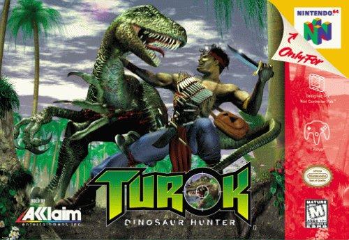 Empire Nintendo 64 Game - Turok: Dinosaur Hunter
