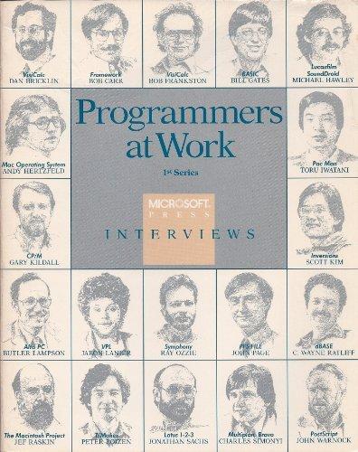 Programmers at work: Interviews