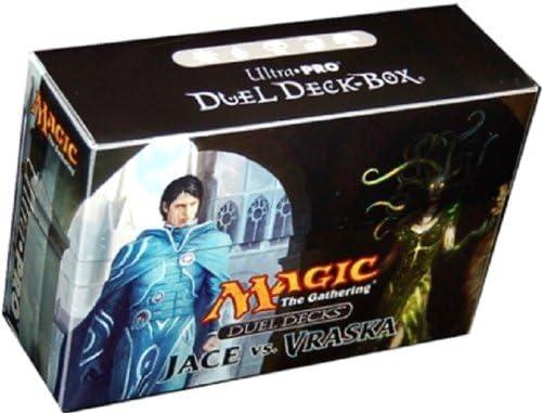 Ultra Pro Dual Deck Box - Caja para cartas Jace vs Vraska: Amazon.es: Juguetes y juegos