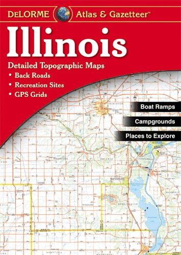 Illinois Atlas and Gazetteer by Garmin