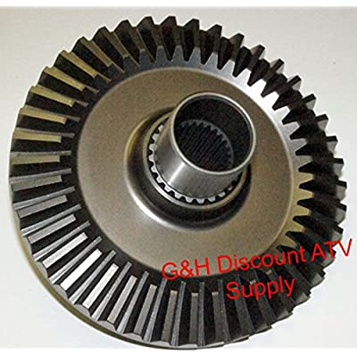 QUALITY Rear Differential Ring Gear for the 1995-2003 Honda TRX 400 FW Fourtrax Foreman ATVs: Automotive