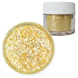 Bakell Sunflower Yellow Food Grade Tinker Dust 4g Decorating Pearl Edible Glitter
