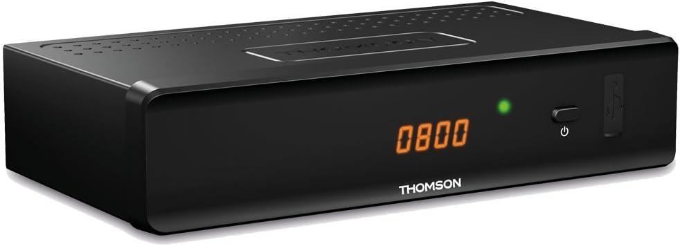 Thomson THC301 tV set-top boxes Cable Negro - Reproductor/sintonizador (Cable, DVB-C, 480i,480p,576i,576p,720p,1080p, 4:3,16:9, Negro, Digital): Amazon.es: Electrónica