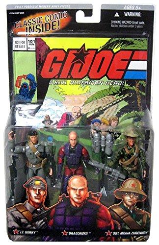 Gi Joe Comic Pack #101 Oktober Guard 3 Pack