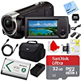 Sony HDRCX405 HDR-CX405 CX405 Video Recording Handycam Camcorder Bundle with Deluxe Bag, 32GB MicroSDHC Memory Card, AC/DC Charger, HDMI Cable, Battery Pack, and More Reviews