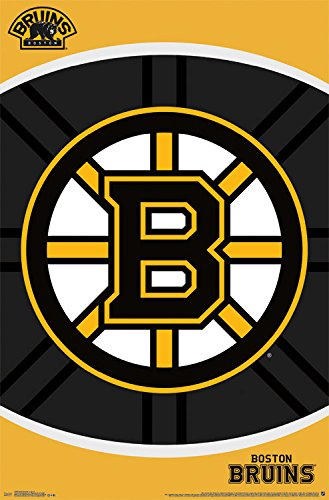 fan products of Trends International Boston Bruins Logo Wall Poster 22.375