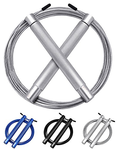 RDX Skipping Rope Adjustable Steel Gym Jump Speed Lose Weight Gymnastics Fitness MMA Boxing Crossfit Jumping Metal Cable Training Workout Exercise For Sale
