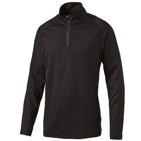 c975fd6eae70 Amazon.com   PUMA Golf Men s Crest Tech 1 4 Zip Popover Jacket ...