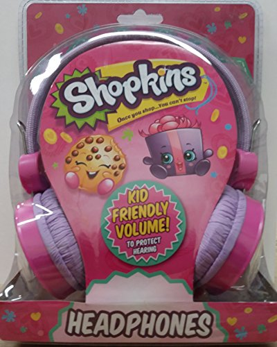 Shopkings Kid Friendly Volume! (To Protect Hearing) Headphones