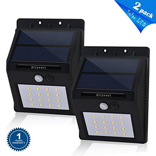 Motion Sensor Outdoor Post Light - 6