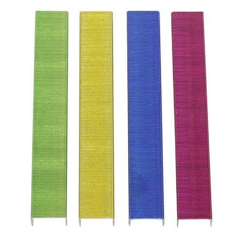 Standard (26/6) Metallic Color Staples - Pack of 3000