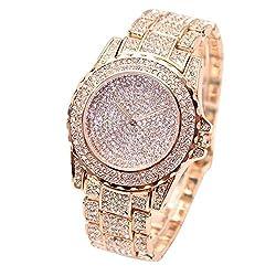 Chranto lucky 7 Women Fashion Luxury Diamonds Analog Quartz Watches