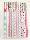 FRE Set de 10pcs différentes couleurs Gel crayons Pastel Stylos bricolage pour l'écriture de dessin