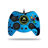 MightySkins Skin for Microsoft Xbox One Hyperkin Duke Controller - Blue Skulls | Protective, Durable, and Unique Vinyl Decal wrap Cover | Easy to Apply, Remove, and Change Styles | Made in The USA