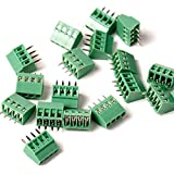 20pcs/lot E-Simpo 2.54mm PCB Screw Terminal Block, 2.54mm 150V6A CE Rohs UL (2.54mm 4P)
