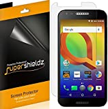 [6-Pack] Supershieldz for Alcatel A30 Screen Protector, Anti-Bubble High Definition Clear Shield + Lifetime Replacements Warranty