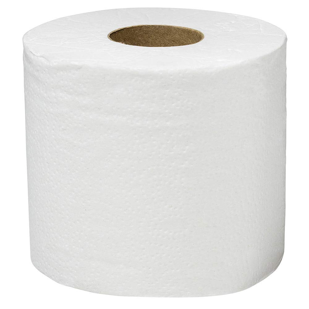 White Individually Wrapped Standard Rolls 2-PLY 550 Sheets // Roll Scott Essential Professional Bulk Toilet Paper for Business 40 Rolls // Case 48040
