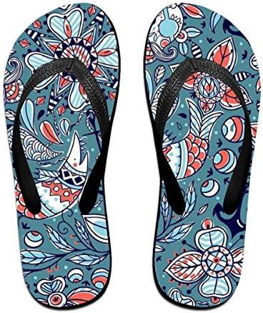 ビーチシューズ 和風 和柄 魚 花柄 ビーチサンダル 島ぞうり 夏 サンダル ベランダ 痛くない 滑り止め カジュアル シンプル おしゃれ 柔らかい 軽量 人気 室内履き アウトドア 海 プール リゾート ユニセックス