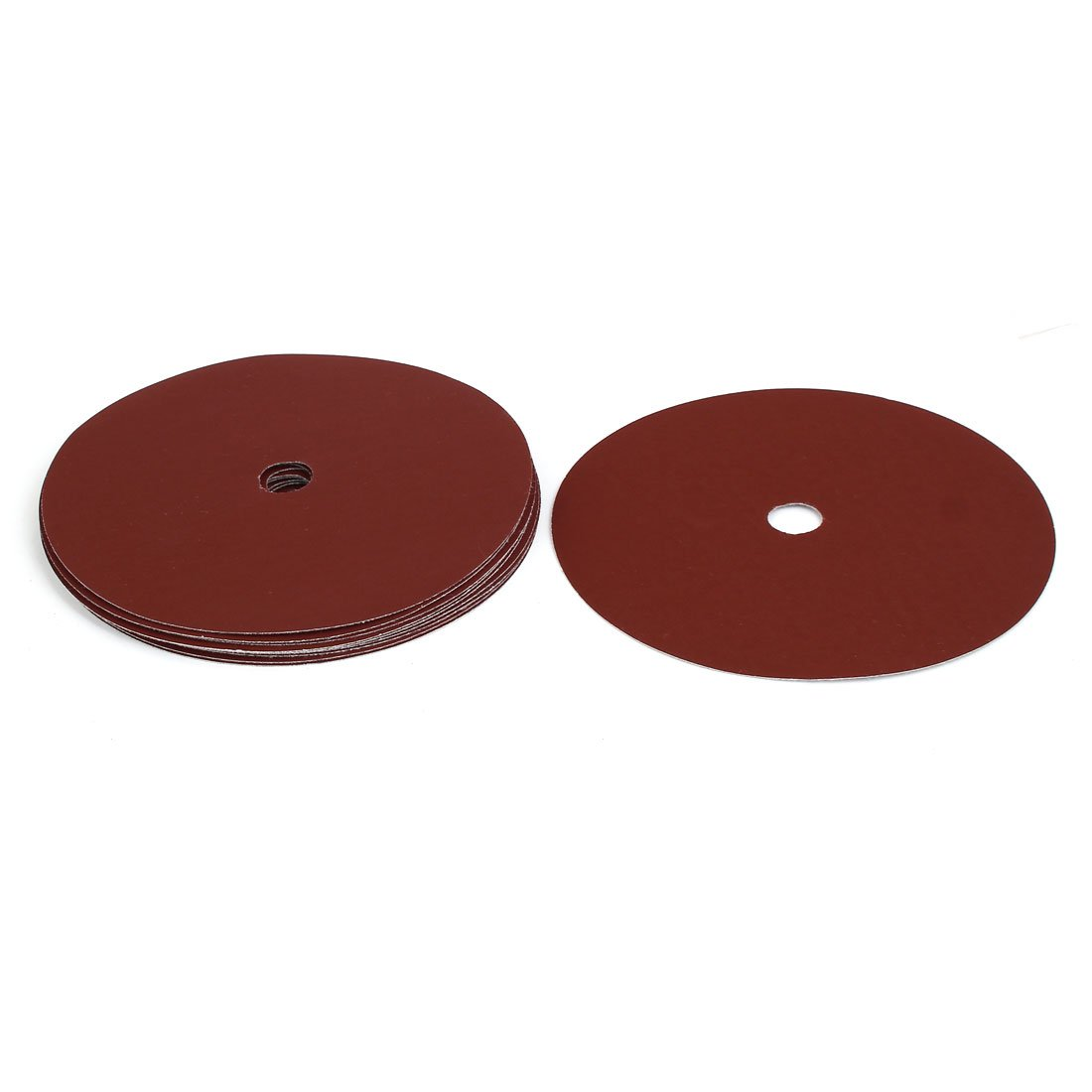 sourcingmap® 1000 Grit 1 Hole 7-inch Diameter Sandpaper Hook Loop Sanding Disc 10 Pcs a17032900ux1099