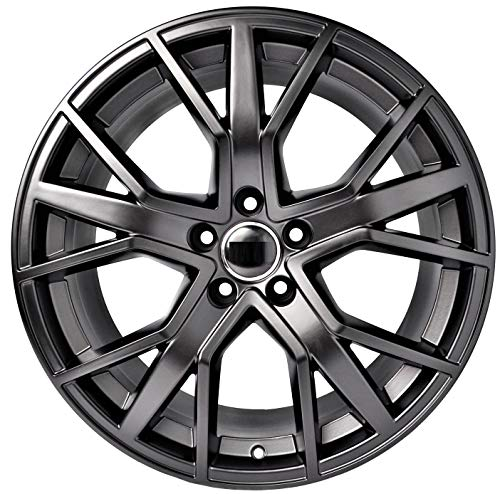 Amazon Com 19 Inch Black Wheels Rims Full Set Of 4 Fit For Audi