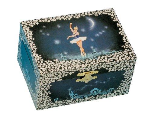 Musicbox Kingdom 22004Joyero Musical Bailarina, jugar Ballerina, azul