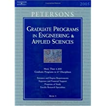 Grad Guides Bk5: Engineer/Appld Sci 2005 (Peterson's Graduate Programs in Engineering & Applied Sciences)