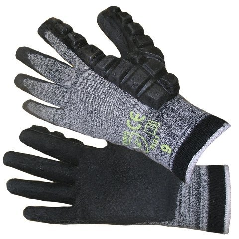 Impacto DP470052 Anti-Impact Hammer Glove, Grey