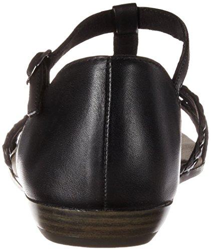 Tamaris Women's 28137 Wedge Heels Sandals Black (Black 001) f9Y6a