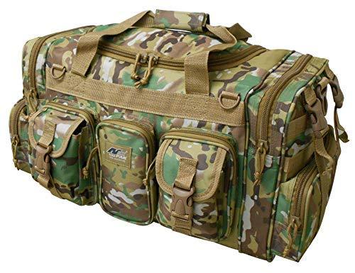 NPUSA Mens Large 22 Duffel Duffle Military Molle Tactical Gear Shoulder Strap Travel Bag