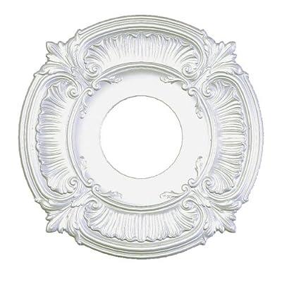 Focal Point Acanthus Medallion, Primed White