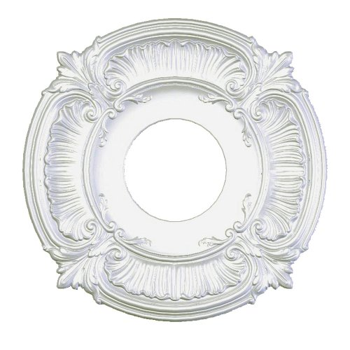 Focal Point Acanthus Medallion in Primed White (12-Inch) (81012)