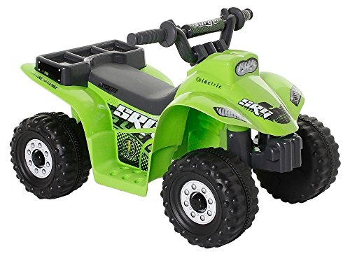 Battery Operated Quad - Little Quad Boys Battery Operated Riding Toy - Green