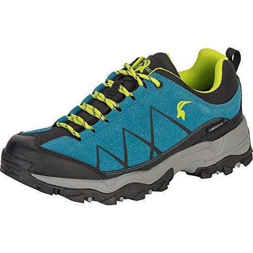 Mountain Guide Herren Outdoor Schuh Etosha Low, blau/lemon, wasserdicht, atmungsaktiv