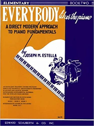 Everybody Likes The Piano Book 2 0073999850635 Amazon