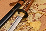 Handmade Katana Damascus Folded Steel Katana