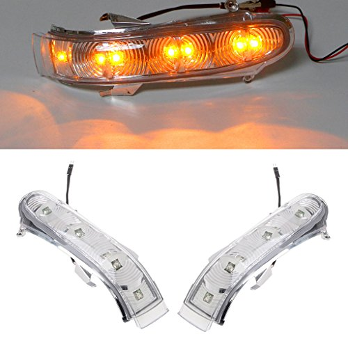Bottone 7LED Front Turn Signals Lights Side Mirror Turn Signal Led For Mercedes W220 W215 Pack of ()