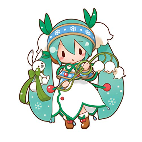 Amazon.com: Vocaloid Hatsune Snow Miku Miku Wood-Lily 2015 ...