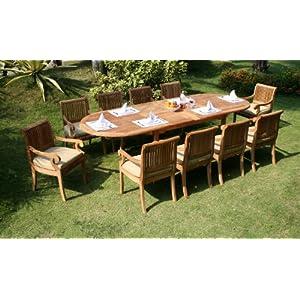 514SOK39uAL._SS300_ Teak Dining Tables & Teak Dining Sets