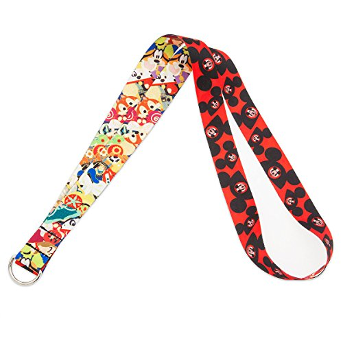 Sublimated Lanyard - Disney Pin Accessory - Lanyard - Mouseketeer Ear Hat Lanyard
