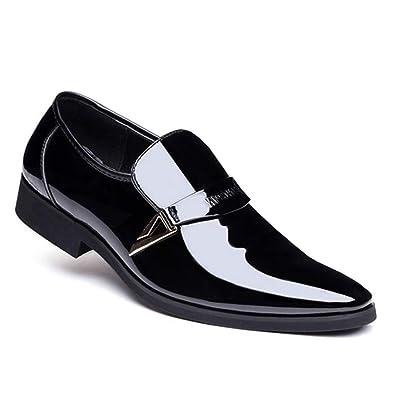 Tenthree Formal Slip On Cuero Zapatos Hombre - Moda ...