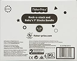 Fisher-Price Baby\'s First Blocks and Rock Stack Bundle