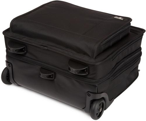 Victorinox Mallette ordinateur à roulettes 674204032886 Noir 21.0 liters