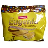 Eugenia Original Biscuit with Cacao 252g (7x36g)-yellow bag by Eugenia