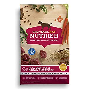 Rachael Ray Nutrish Real Beef, Pea & Brown Rice Recipe Dry Dog Food, 40 Pounds 43